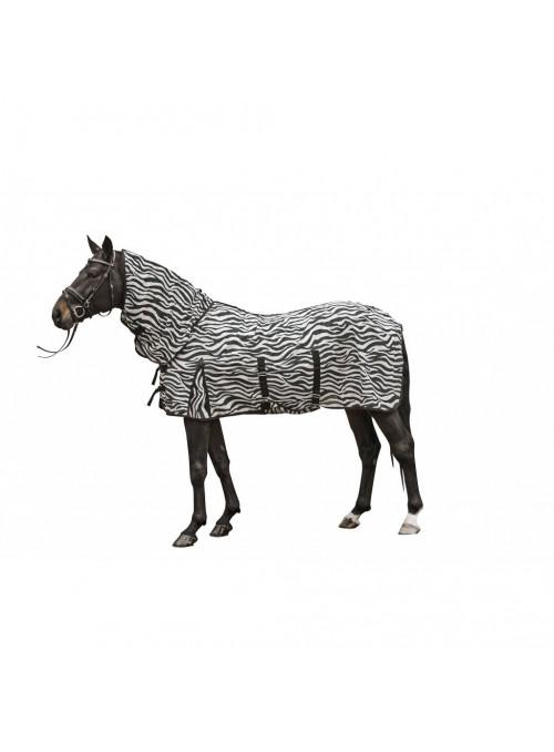 Derka siatkowa z kapturem Zebra
