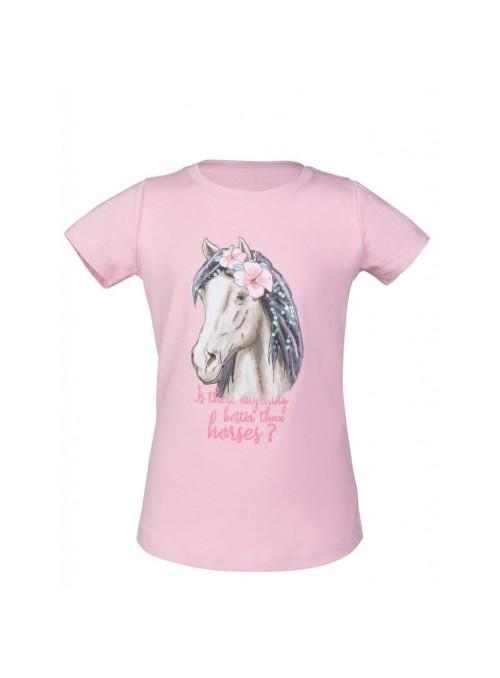 T-Shirt Soft Pink Horse