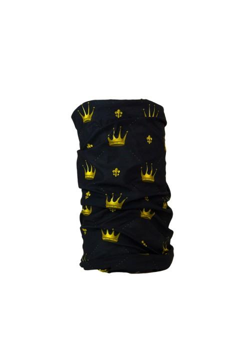 Komin czarny korony