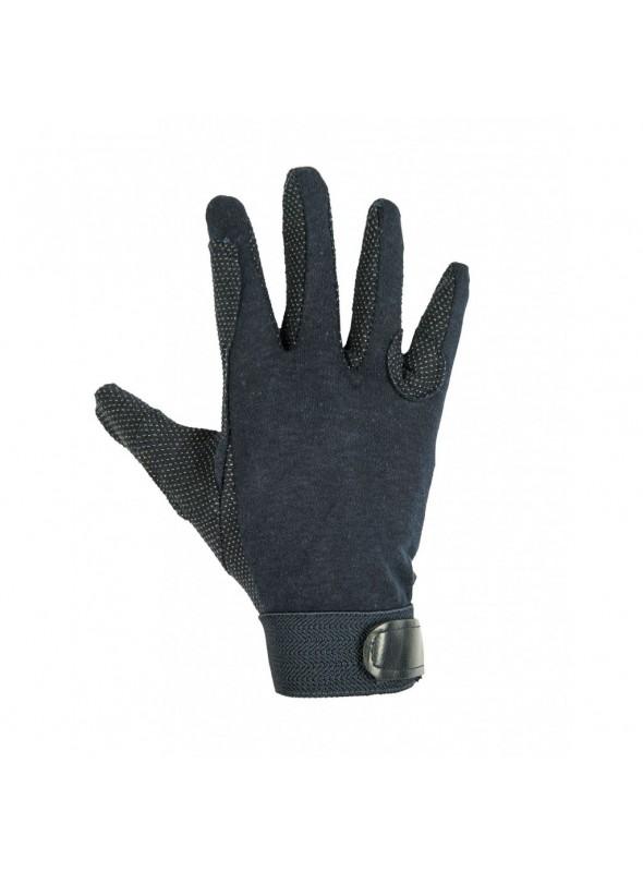 Rękawiczki bawełniane czarne L