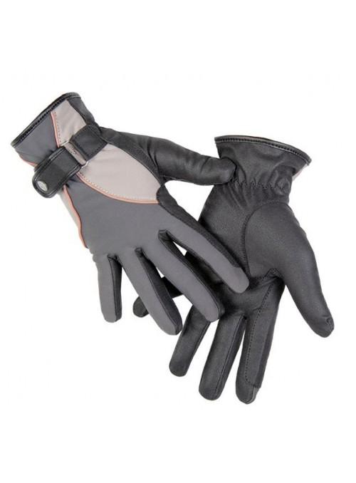 Rękawiczki softshell Topas szary L