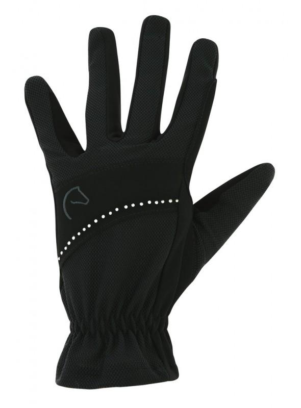Rękawiczki Strass czarne L