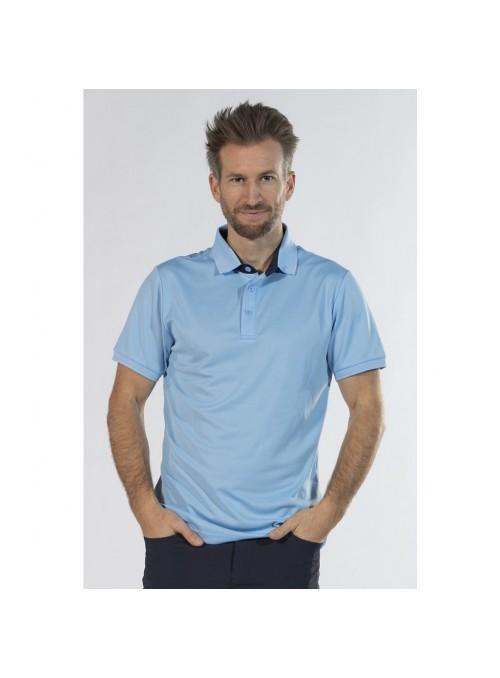 Koszulka męska Polo Classico błękit L