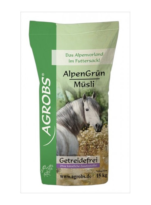 Agrobs Alpen Grun Musli 15kg