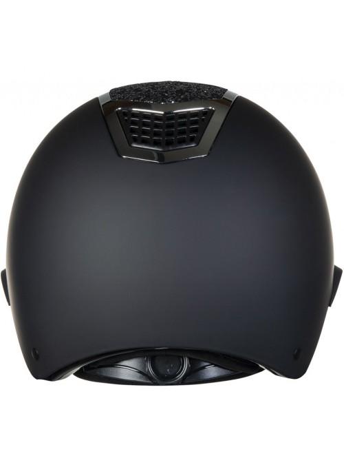 Kask Glamous Shield czarny/czarny L