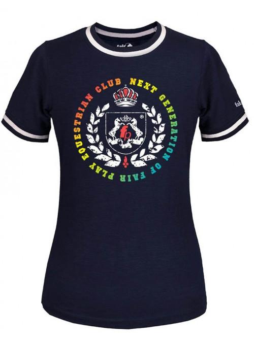 Koszulka Abby Multi granatowa 146