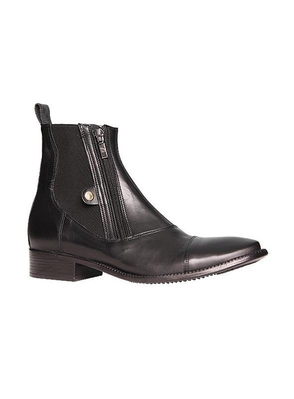 Buty hippica elite czarne