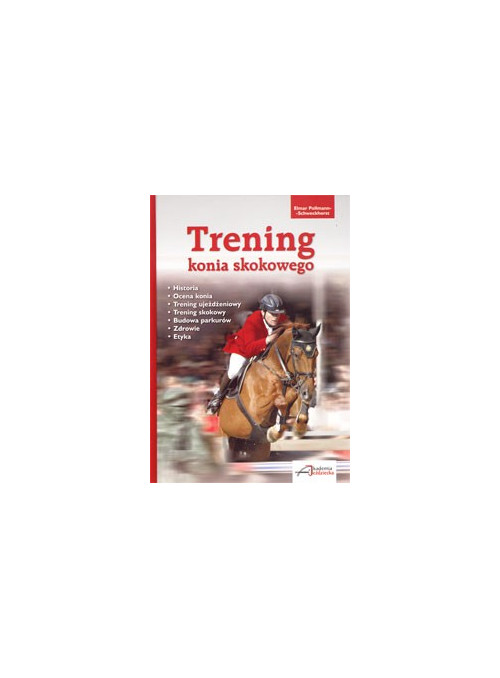 Trening konia skokowego