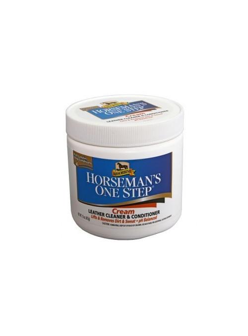 Mydło do skór + odżywka Absorbine Horseman's One Step
