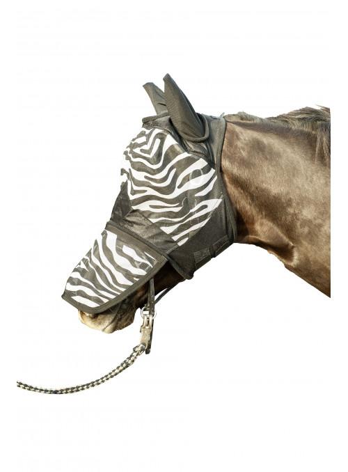 Maska dla konia w Zebrę