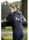 Koszulka dziecięca Princess róż 98/104