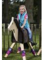 Bandaże polarowe Funny horses fiolet 100