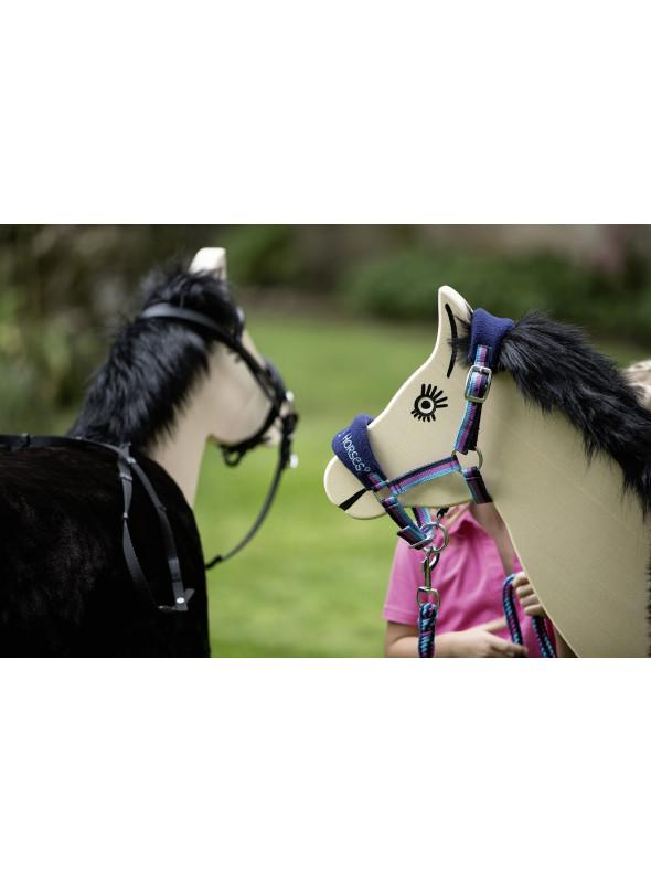 Kantar Funny horses granat mini shetty