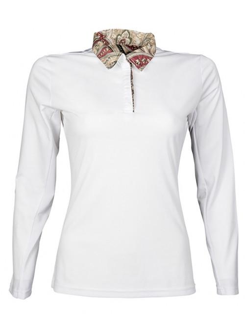 Koszulka turniejowa taliowana Siena biała L