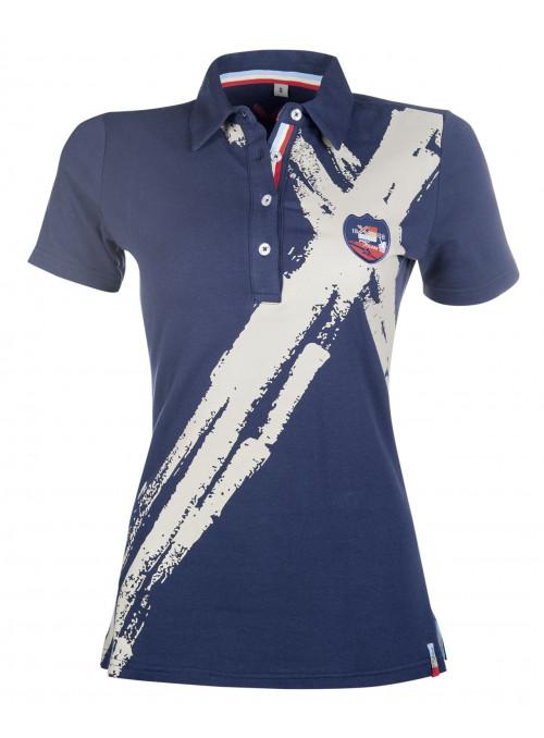 Koszuka Polo Pro team dziecieca beż 128