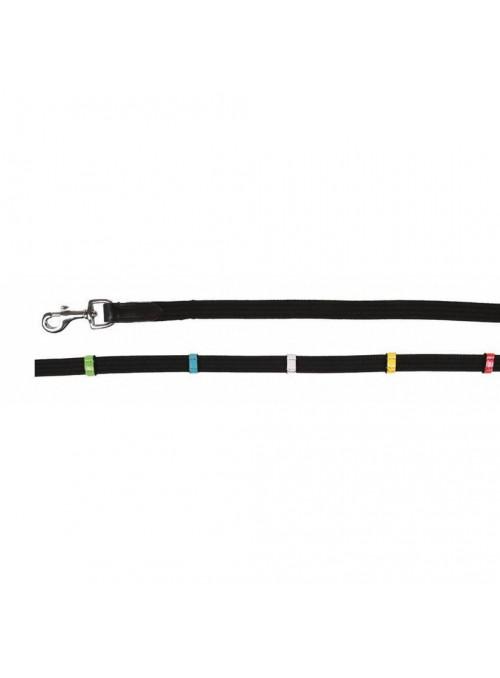 Wodze parciane z kolorowymi stoperami